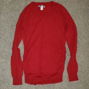 Red Maternity Sweater, sz. Small